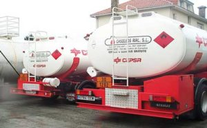 camiones reparto gasoil a domicilio Gasóleos Rial